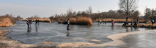 schaatsen met dooi
