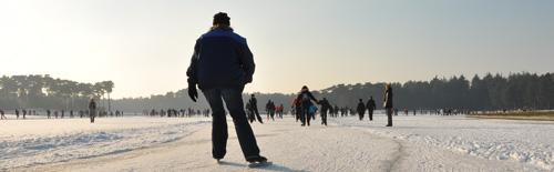 De eerste toertocht van 2010: Henschotermeer 6 januari