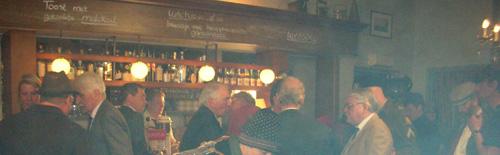 Bar gezellig aan de bar