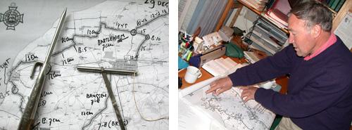 Piet Venema, ooit ijsmeester voor de Elfstedentocht bewaakte de ijsdikte zorgvuldig