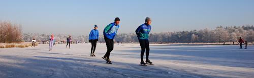 Natuurijs: schaatsen in natuurgebieden