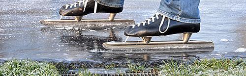 natuurijs Doornsche ijsclub schaatsen