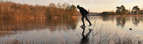 schaatsen natuurijs leersumseveld