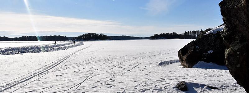 Rantasalmi schaatsen natuurijs Finland