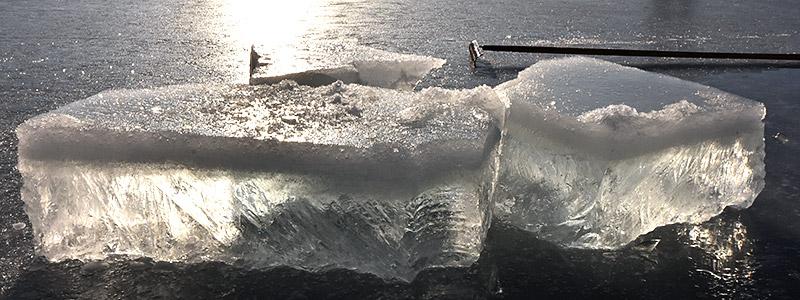 natuurijs Elfstedentocht dubbele ijsdikte