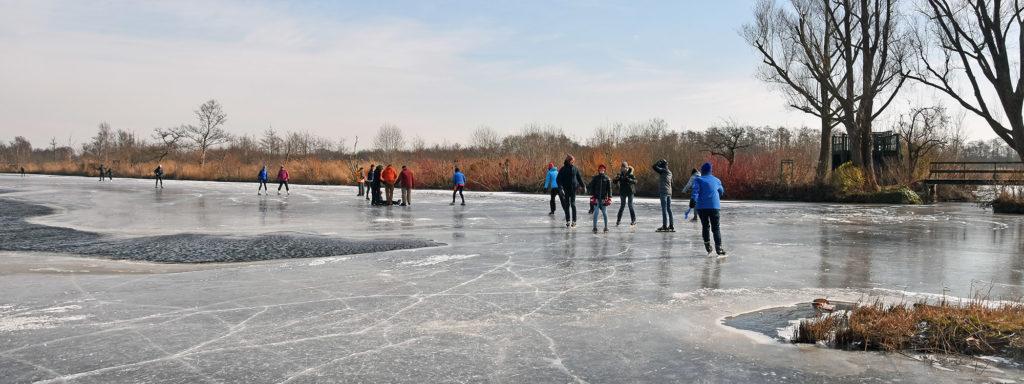 Molenpolder natuurijs schaatsen