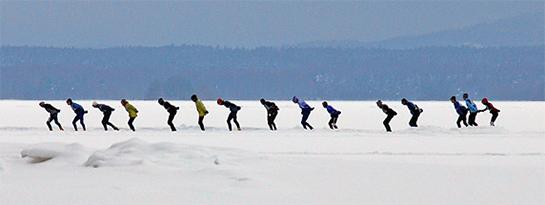 natuurijs Zweden Orsa