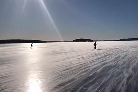 natuurijszweden dala active skaters